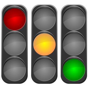 A traffic light system telling employees when they may enter a manager's office is not conducive to a motivated workforce!